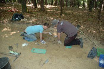 Grabung in Großklein, 17. Juli, Foto: UMJ