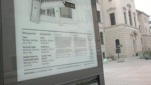 Info-Stele im Joanneumsviertel; Foto: UMJ
