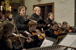 Ensemble des J.J. Fux-Konservatoriums Graz; Foto: Nikolas Lackner