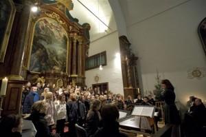 Jugendchor des J.J. Fux-Konservatoriums Graz; Foto: Nikolas Lackner