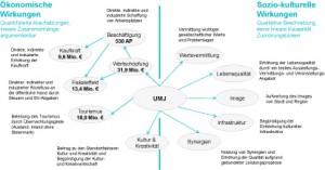 Ökonomische und Sozio-kulturellen Wirkungen; Grafik: Integrated Consulting Group