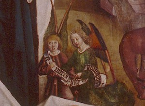 Zwei singende Engel