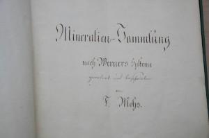 Mohskatalog, 10er-Jahre, 1800; Foto: UMJ