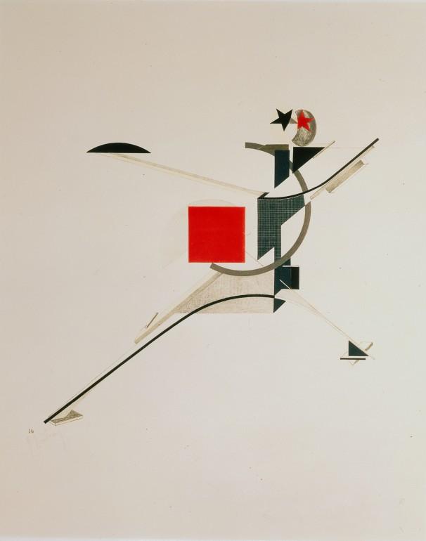 El Lissitzky, The New Men, 1923, Collection Van Abbemuseum, Foto: Peter Cox