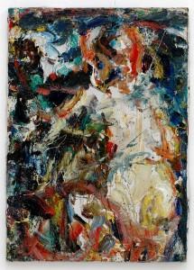 "Eugène Leroy, ""Nu/Akt"", 1965, Öl auf Leinwand, 92 x 65 cm, Collection MUba Eugène Leroy, Tourcoing"