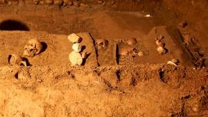 Skelettfund unter der Grazer Burg © Landespressedienst