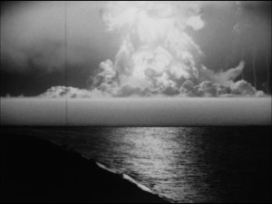 Harold Edgerton, with Germeshausen & Grier (for the US Atomic Energy Commission) Stills from Photography of Nuclear Detonations, 1950s 16mm Kodachrome film Color and black-and-white. Silent Running time: 11:34 minutes Credit line: Courtesy MIT Museum
