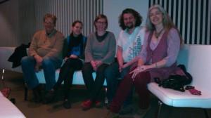 Abschlussrunde des Fran-Projekts im Februar 2014 Foto: Achim Meurer