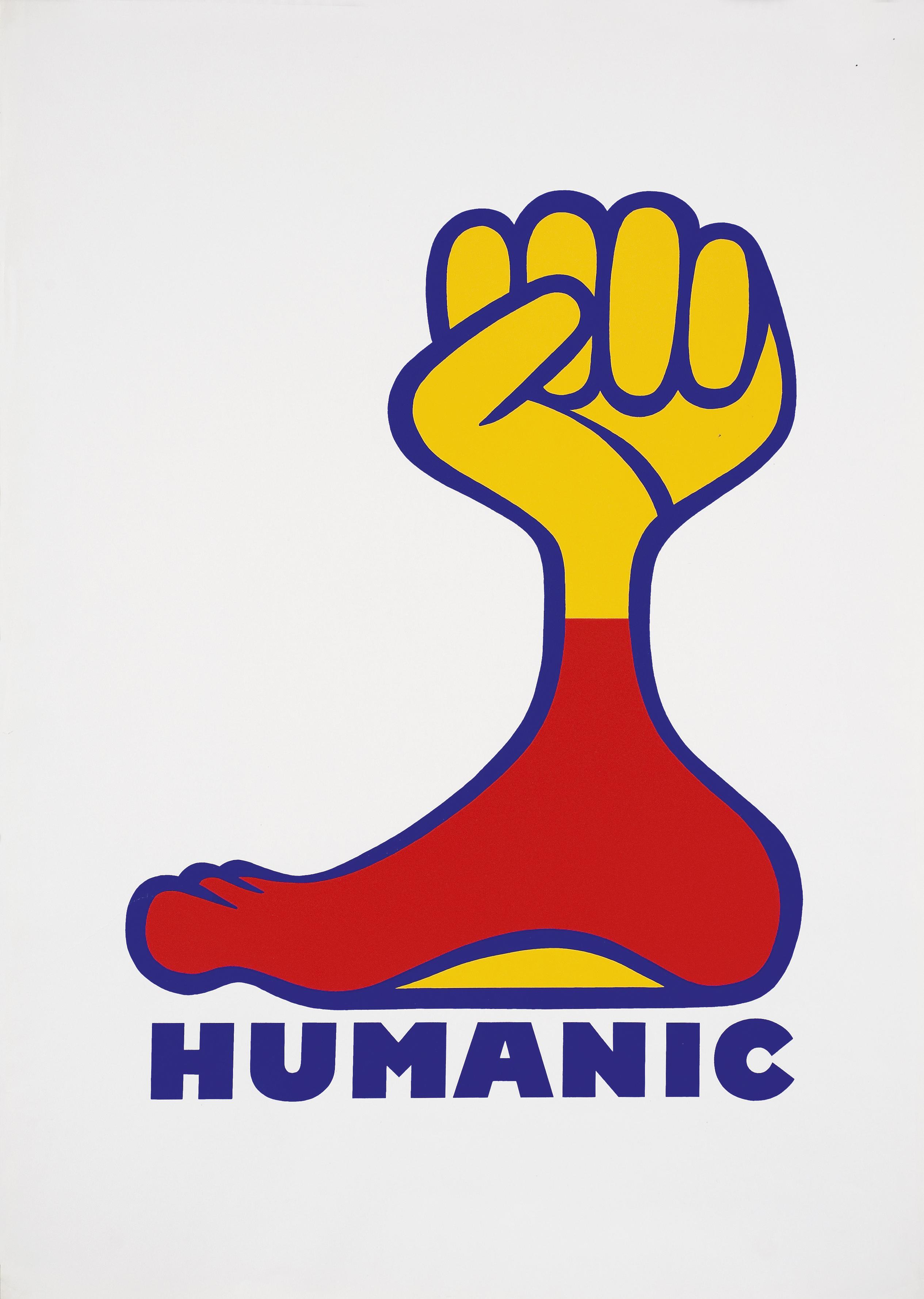 Karl Neubacher, HUMANIC franz, ca. 1974, 58,8 x 83,8, Courtesy Privatsammlung