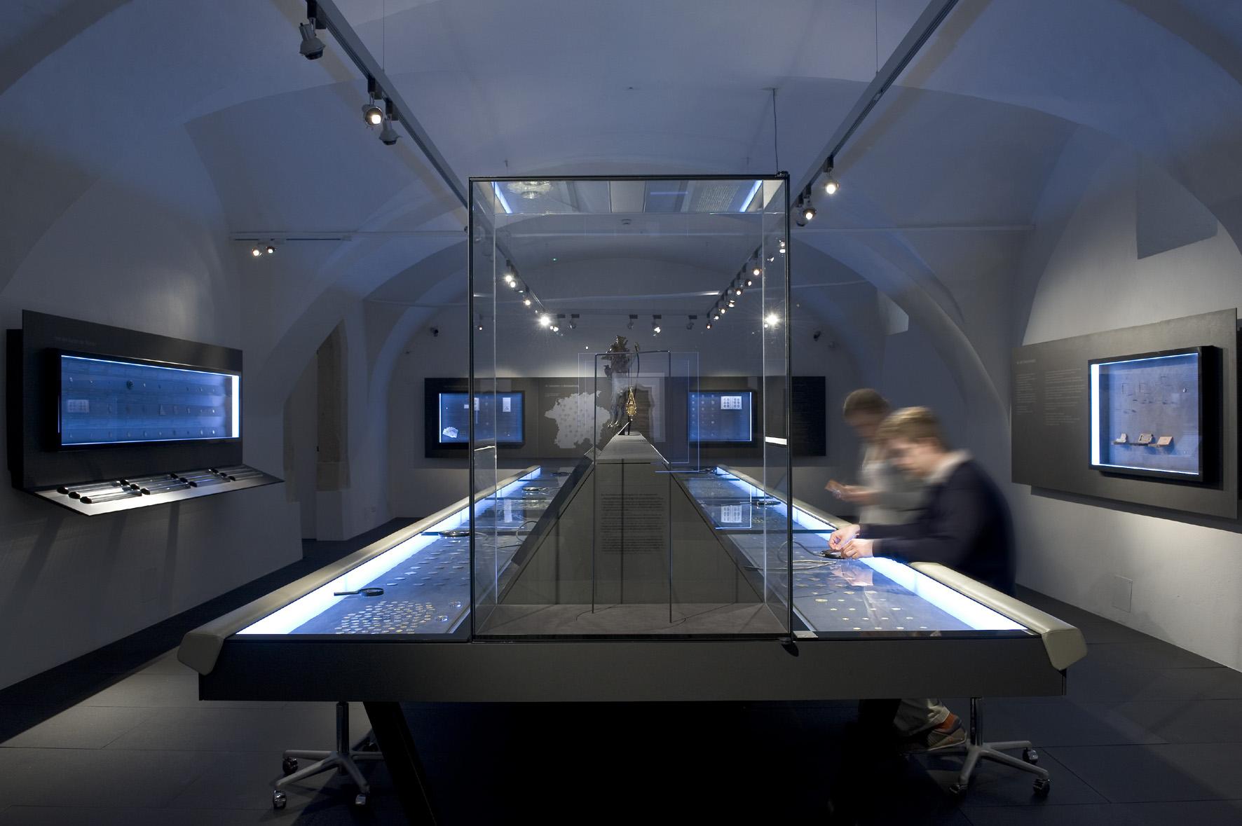 Ausstellungsansicht, Münzkabinett, Foto: UMJ/N. Lackner
