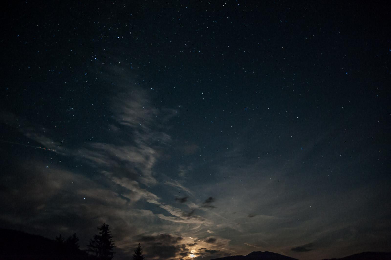 Mondnacht, Foto: Achim Meurer