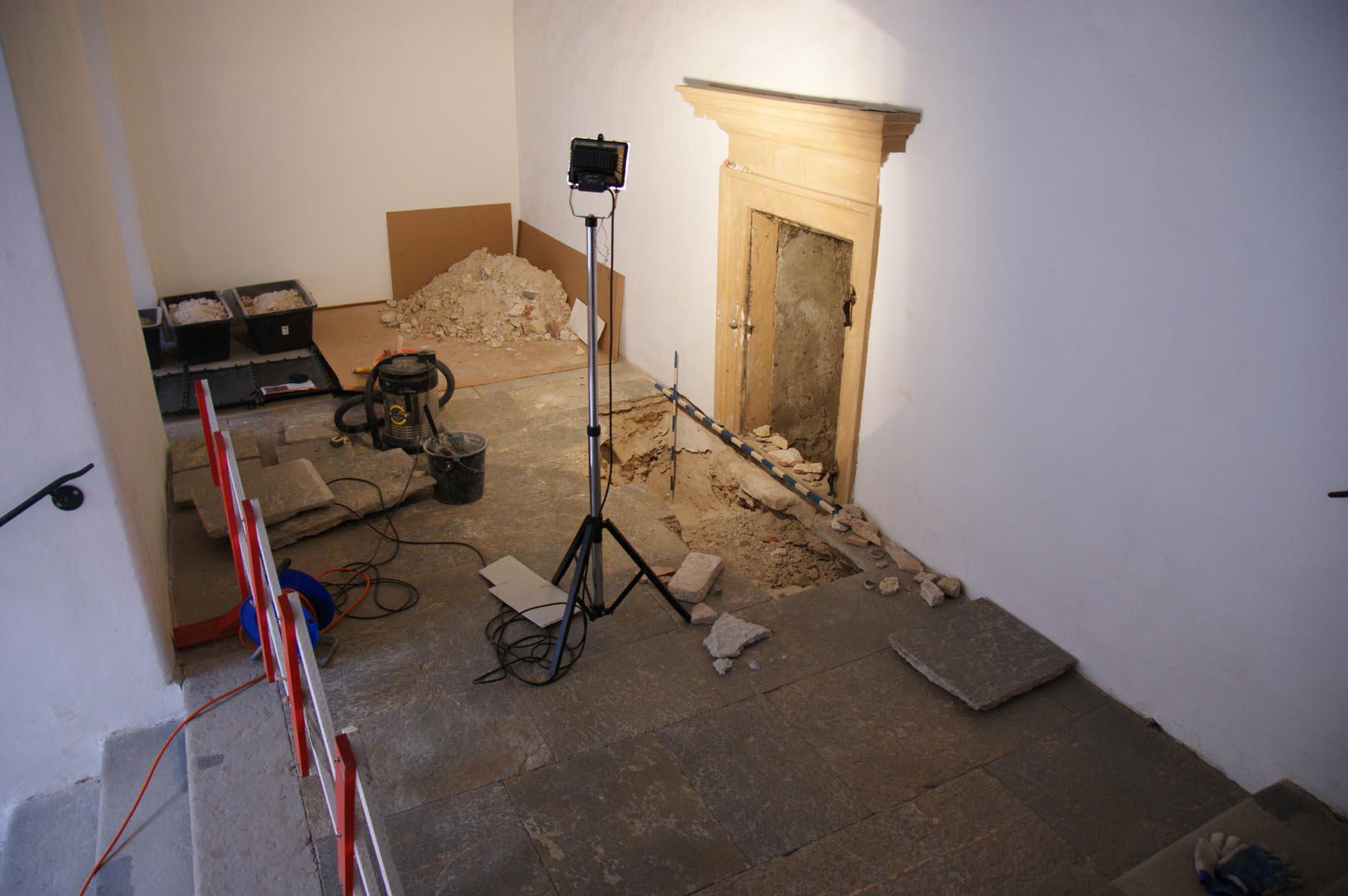 Stiegenhausforschung, Foto: UMJ