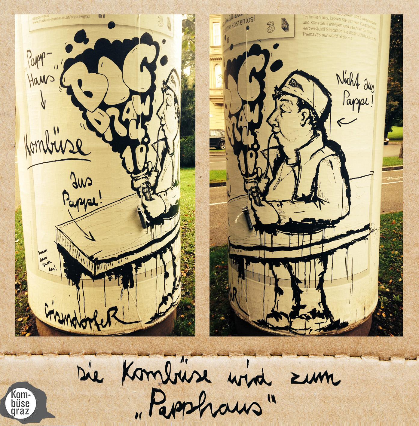 Big Draw, Kombüse Graz, © CrisendorfeR