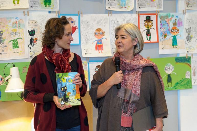 Melanie Laibl und Eva Kreissl; Foto: N. Lackner