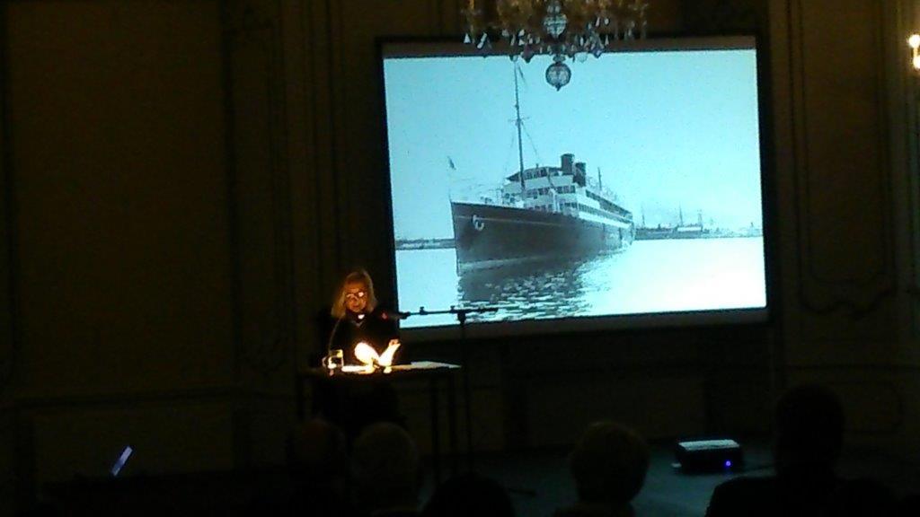 Lesung von Ingrid Pfeiffer, Foto: Universalmuseum Joanneum/S. Gröchenig
