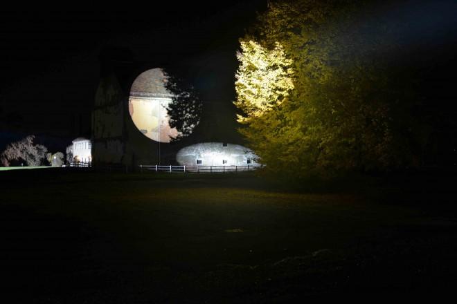 Siegrun Appelt, Lichtprojekt Graz-Reininghaus, © Siegrun Appelt 2015