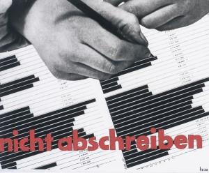 """Hubert Hoffmann, """"Entwurf für """"Roley–Plex""""-Prospekt"""", 1933 Sammlung Neue Galerie Graz, Universalmuseum Joanneum"""