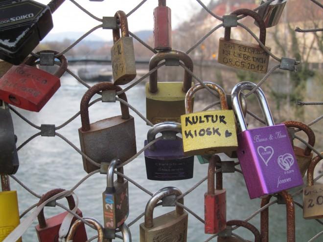 Kulturkiosk-Schloss auf der Murbrücke, Foto: L. Urban
