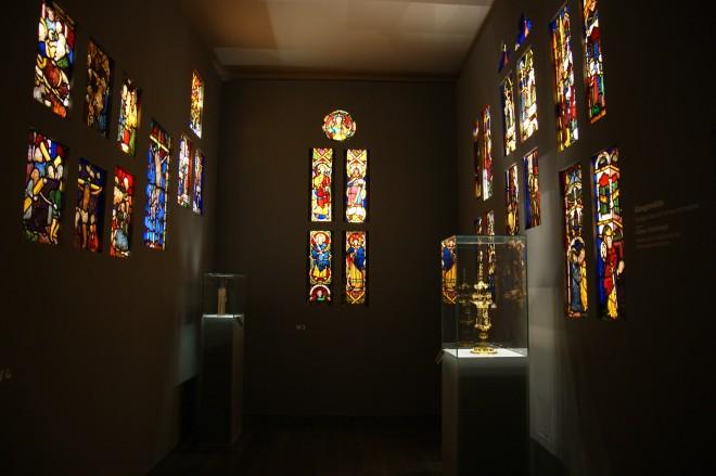 Himmlisches Licht im Glasgemälderaum, Foto: UMJ/PS