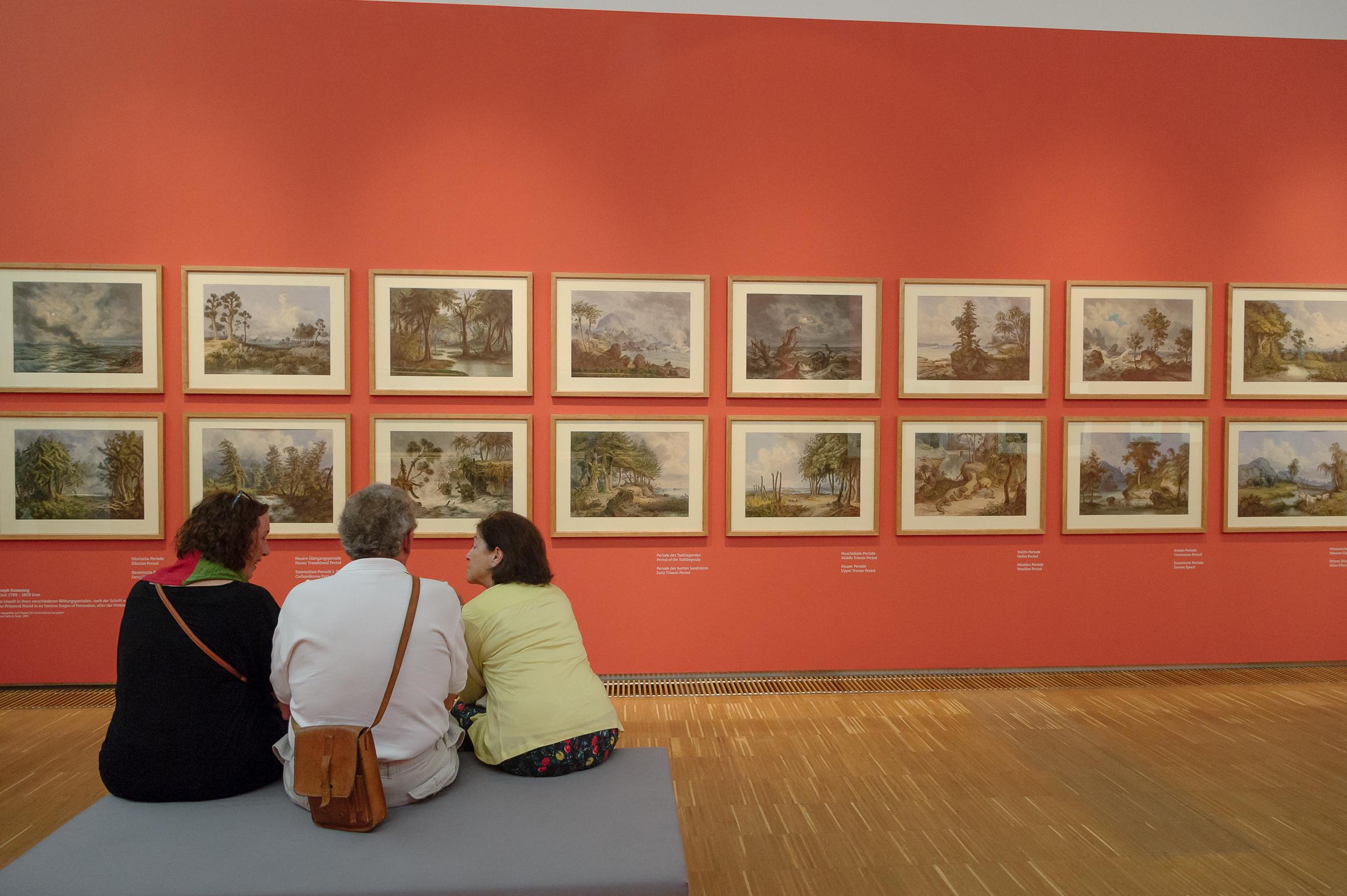 Bei der Eröffnung, Foto: Universalmuseum Joanneum/N. Lackner
