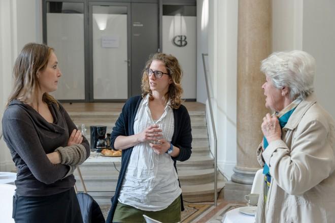 Beim Filtercafé können Generationen miteinander ins Gespräch kommen und sich über Kunst und Kultur austauschen. Foto: Universalmuseum Joanneum