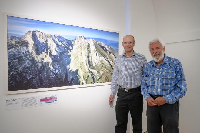 Das kongeniale Duo: Kurt Stüwe und Ruedi Homberger, Foto: Universalmuseum Joanneum/N. Lackner