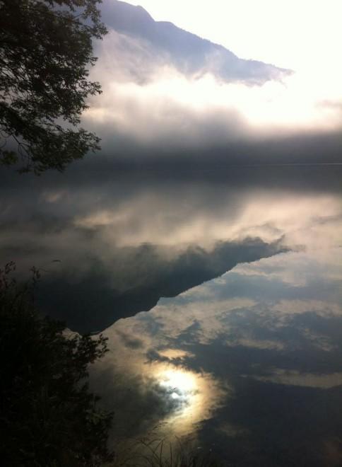Der Altausseer See im Nebel; Foto: A. Fras