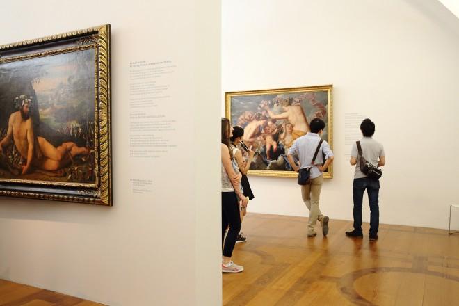 Blick in die Dauerausstellung der Alten Galerie, Foto: UMJ/J.J. Kucek