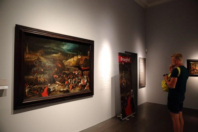 Breughel in der Dauerausstellung, Foto: UMJ/J.J. Kucek
