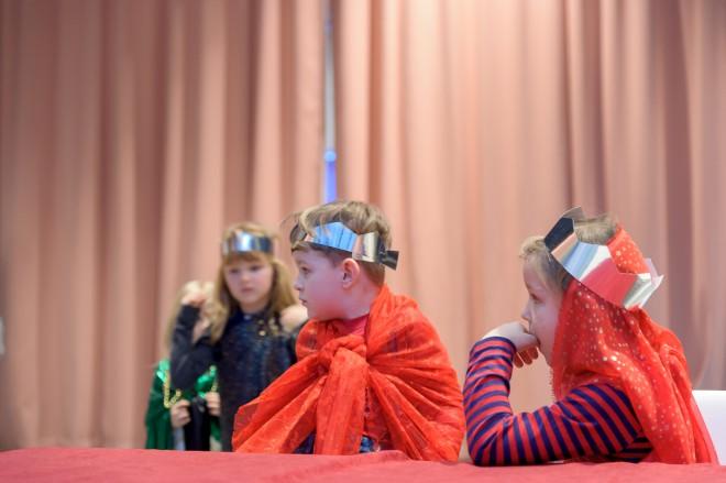Die kleinen Könige und Königinnen im Blauen Palast, Foto: Universalmuseum Joanneum/N. Lackner