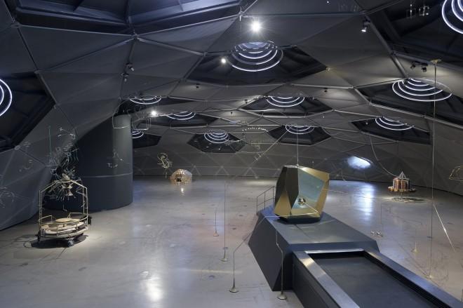 Der Blick von oben in den Space01, Foto: Universalmuseum Joanneum/N. Lackner