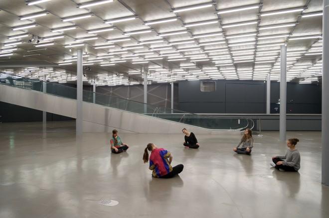 Tanzworkshop mit Veza María Fernández Ramos, Foto: Universalmuseum Joanneum/N. Lackner
