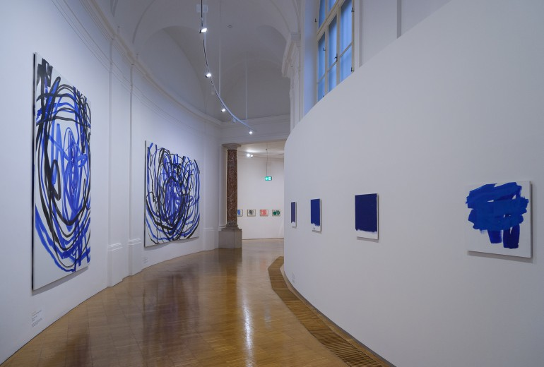 """Ohne Unterstützung wäre auch die Ausstellung """"Malerei im Wandel. Die Sammlung Ploner"""" in der Neuen Galerie Graz nicht zustande gekommen. Foto: Universalmuseum Joanneum/N. Lackner"""