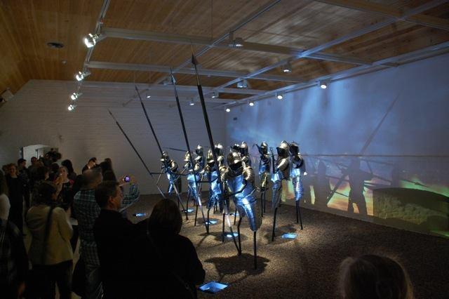 Ausstellungsansicht in der Burg Häme, Foto: Universalmuseum Joanneum