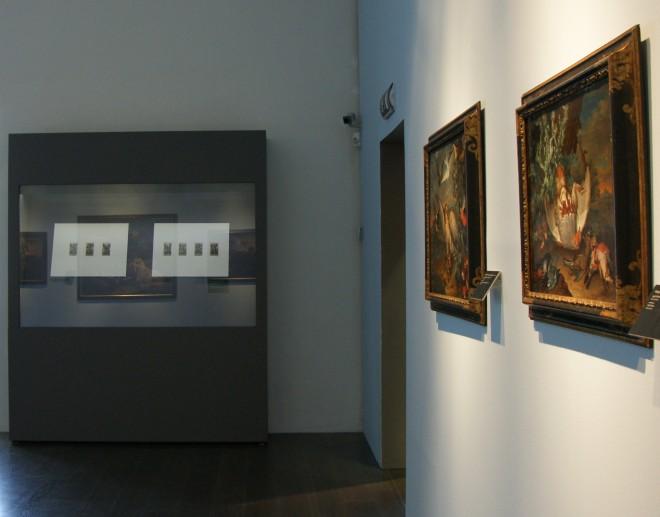 Ausstellungsansicht, Graphikvitrine Foto: Universalmuseum Joanneum/Paul Schuster
