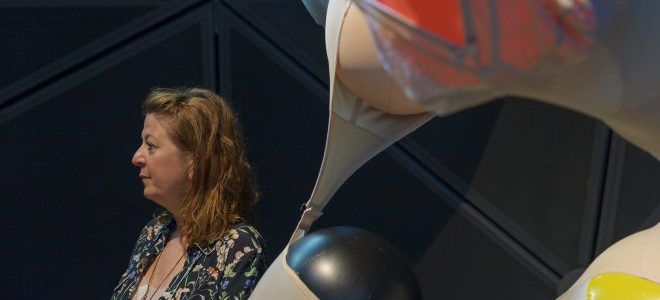 Kateřina Vincourová im Kunsthaus Graz, Foto: Universalmuseum Joanneum/N. Lackner