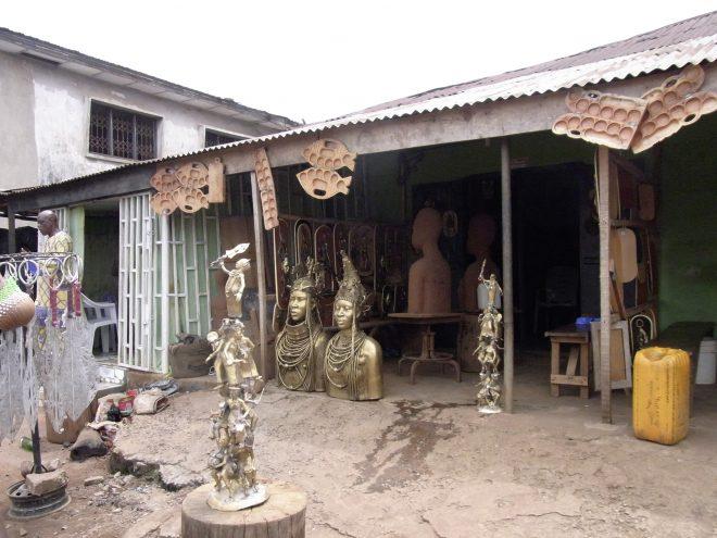 """Projekt """"Yaruya"""", Bronzegießerei, Benin City, Nigeria, Fotos: Stefanie Öttl"""
