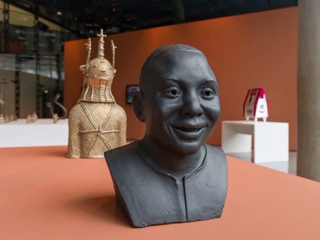 """Ausstellungsansicht """"YARUYA"""", 2016, Kunsthaus Graz, Offenes Haus, Foto: Universalmuseum Joanneum/N. Lackner"""
