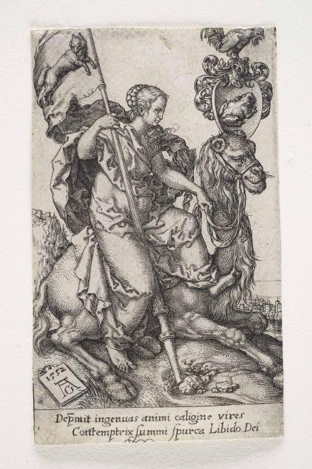 Heinrich Aldegrever: Die Unzucht 1552, Foto: Universalmuseum Joanneum/N. Lackner
