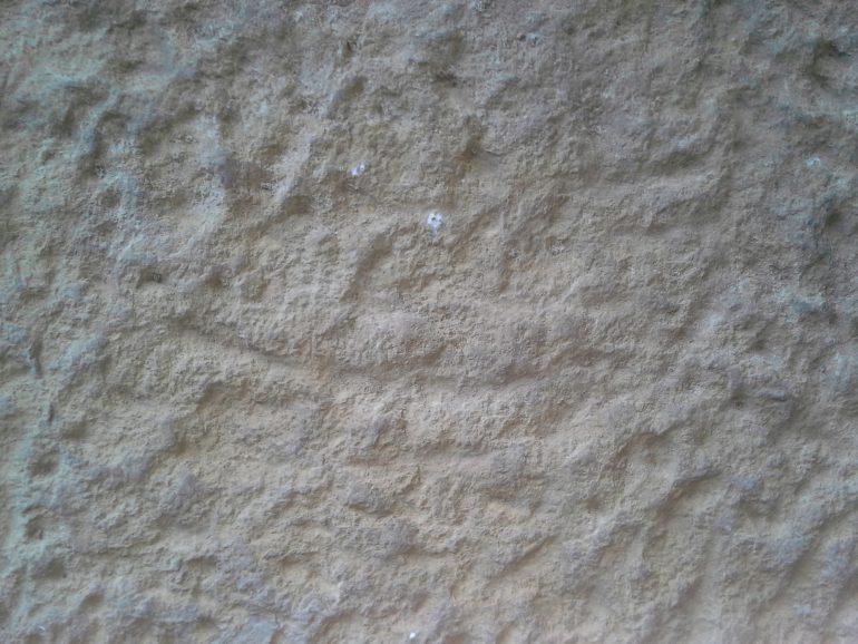 Rückseite der Stele des L. Cantius Secundus, Foto: Angelika Schön