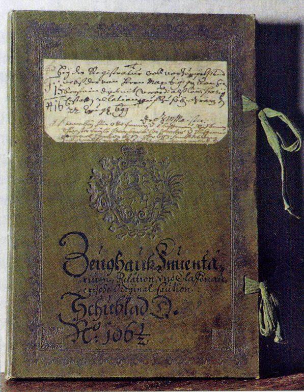 Inventar von 1699, Original im Steiermärkischen Landesarchiv, Foto: UMJ