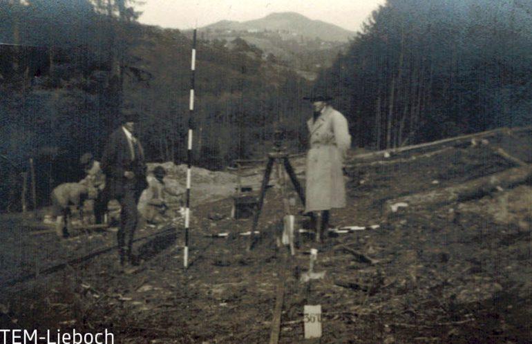 unbekannter Fotograf, Bauarbeiten an der Gleichenberger Bahn, TEM Lieboch