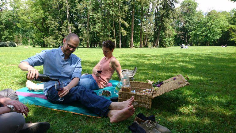 Museums-Picknick im Eggenberger Schlosspark, Foto: Universalmuseum Joanneum / K. Stimpfl