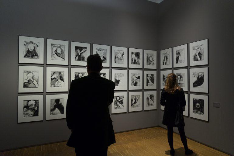 """Ausstellungsansicht, """"Nach der Dämmerung"""", Foto: Universalmuseum Joanneum/N. Lackner"""