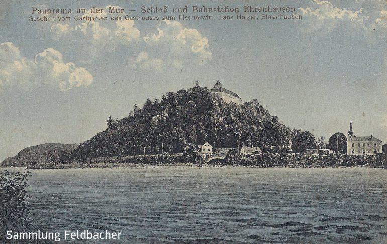 Postkarte, Ehrenhausen, Foto: Johann Wisura (Graz), 1910, Slg. Feldbacher