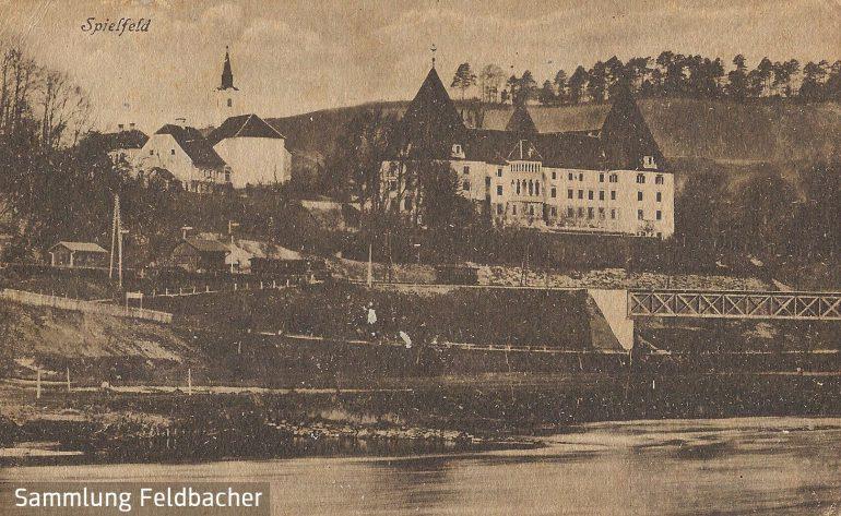 Postkarte, Spielfeld, Foto: Franz Knollmüller (Graz), 1918