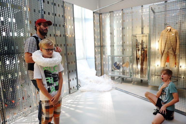 Schüler/innen der NMS Eggersdorf im Museum für Geschichte