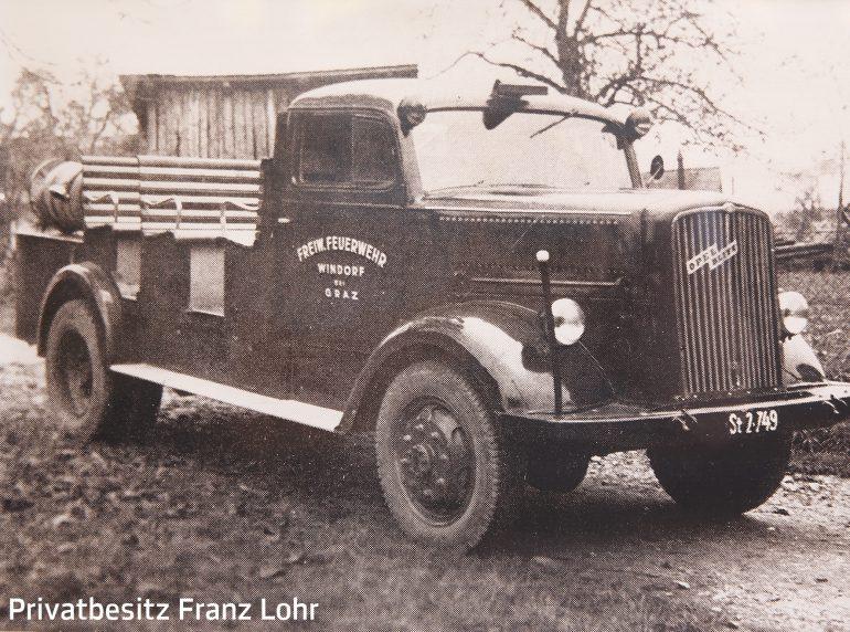 Feuerwehrauto der FF Windorf bei Graz aus dem Hause Lohr