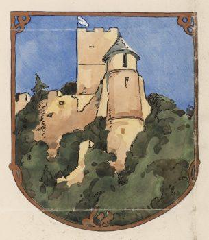 Wappen der Marktgemeinde Gösting, Steiermärkisches Landesarchiv