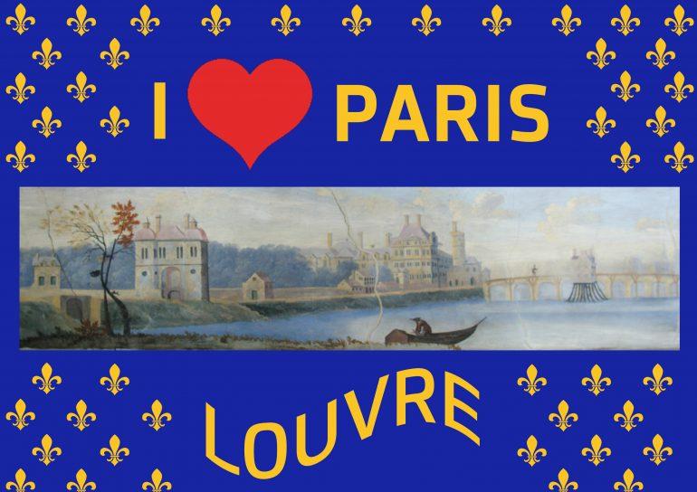"""Bereits im 17. Jahrhundert war der Louvre in Paris ein """"must-see"""": Neben den fluß auf der vntern seithen zu endt der statt ist die königliche residenz, Louure genandt. Anierzo ist khaumb der halbe theil vertig, man bauth aber taglich starkh daran. Darinen seint zu sehen des königs vnd der königin zimer, so mit schenesten gemählen, schreib cässtlen, tapetzereyen vnd andern edlen geschmuckh geziert seint. Von diesen königlichen apartementt ist an den waser hinundter ein überauß langes, gleich hohes vnd ganz gleich gebautes gebey, Les Galeries de Louure genandt, darin ein galerie. Istmit schenen gemällen vnd statuen erfillet."""